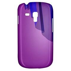Verre Bleu Wave Chevron Waves Purple Galaxy S3 Mini by Mariart