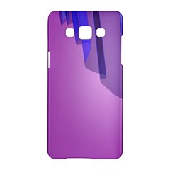 Verre Bleu Wave Chevron Waves Purple Samsung Galaxy A5 Hardshell Case  by Mariart