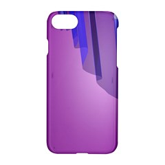 Verre Bleu Wave Chevron Waves Purple Apple Iphone 7 Hardshell Case by Mariart
