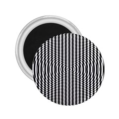 Vertical Lines Waves Wave Chevron Small Black 2 25  Magnets by Mariart
