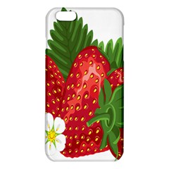 Strawberry Red Seed Leaf Green Iphone 6 Plus/6s Plus Tpu Case by Mariart