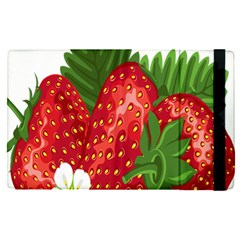 Strawberry Red Seed Leaf Green Apple Ipad Pro 12 9   Flip Case by Mariart