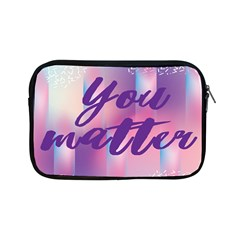 You Matter Purple Blue Triangle Vintage Waves Behance Feelings Beauty Apple Ipad Mini Zipper Cases by Mariart