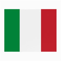 National Flag Of Italy  Small Glasses Cloth (2 Side) by abbeyz71