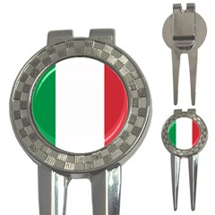 National Flag Of Italy  3 In 1 Golf Divots by abbeyz71