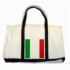 National Flag Of Italy  Two Tone Tote Bag by abbeyz71