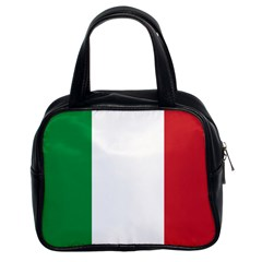 National Flag Of Italy  Classic Handbags (2 Sides) by abbeyz71