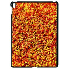 Orange Yellow  Saw Chips Apple Ipad Pro 9 7   Black Seamless Case