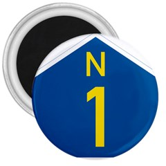 South Africa National Route N1 Marker 3  Magnets by abbeyz71