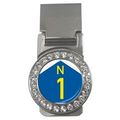 South Africa National Route N1 Marker Money Clips (cz)  by abbeyz71
