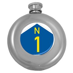 South Africa National Route N1 Marker Round Hip Flask (5 Oz) by abbeyz71
