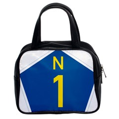 South Africa National Route N1 Marker Classic Handbags (2 Sides) by abbeyz71