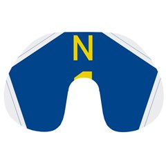 South Africa National Route N1 Marker Travel Neck Pillows by abbeyz71