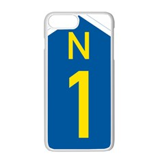 South Africa National Route N1 Marker Apple Iphone 7 Plus White Seamless Case by abbeyz71