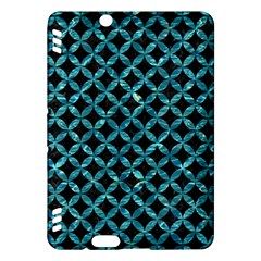 Circles3 Black Marble & Blue Green Water Kindle Fire Hdx Hardshell Case by trendistuff