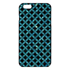Circles3 Black Marble & Blue Green Water Iphone 6 Plus/6s Plus Tpu Case by trendistuff
