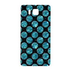 Circles2 Black Marble & Blue Green Water Samsung Galaxy Alpha Hardshell Back Case by trendistuff