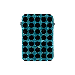 Circles1 Black Marble & Blue Green Water (r) Apple Ipad Mini Protective Soft Case by trendistuff