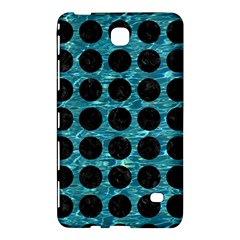 Circles1 Black Marble & Blue Green Water (r) Samsung Galaxy Tab 4 (8 ) Hardshell Case  by trendistuff