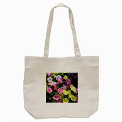 Lovely Flowers 17 Tote Bag (cream) by MoreColorsinLife