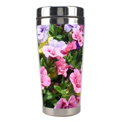 Lovely Flowers 17 Stainless Steel Travel Tumblers by MoreColorsinLife