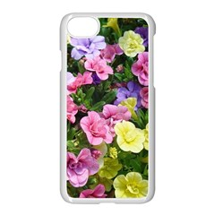 Lovely Flowers 17 Apple Iphone 7 Seamless Case (white) by MoreColorsinLife