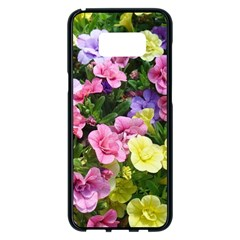 Lovely Flowers 17 Samsung Galaxy S8 Plus Black Seamless Case by MoreColorsinLife