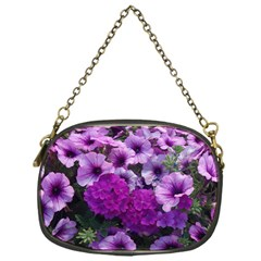 Wonderful Lilac Flower Mix Chain Purses (one Side)  by MoreColorsinLife