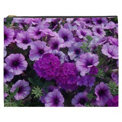 Wonderful Lilac Flower Mix Cosmetic Bag (xxxl)  by MoreColorsinLife