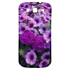 Wonderful Lilac Flower Mix Samsung Galaxy S3 S Iii Classic Hardshell Back Case by MoreColorsinLife