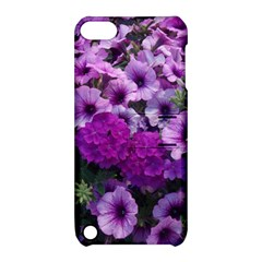Wonderful Lilac Flower Mix Apple Ipod Touch 5 Hardshell Case With Stand by MoreColorsinLife