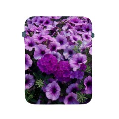 Wonderful Lilac Flower Mix Apple Ipad 2/3/4 Protective Soft Cases by MoreColorsinLife