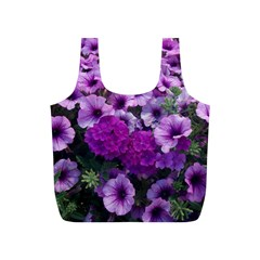 Wonderful Lilac Flower Mix Full Print Recycle Bags (s)  by MoreColorsinLife