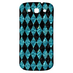Diamond1 Black Marble & Blue Green Water Samsung Galaxy S3 S Iii Classic Hardshell Back Case by trendistuff