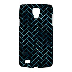 Brick2 Black Marble & Blue Green Water Samsung Galaxy S4 Active (i9295) Hardshell Case by trendistuff