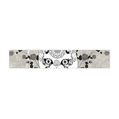 Wonderful Sugar Cat Skull Flano Scarf (mini)