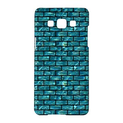 Brick1 Black Marble & Blue Green Water (r) Samsung Galaxy A5 Hardshell Case  by trendistuff