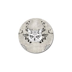 Wonderful Sugar Cat Skull Golf Ball Marker (4 Pack) by FantasyWorld7