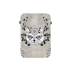 Wonderful Sugar Cat Skull Apple Ipad Mini Protective Soft Cases by FantasyWorld7
