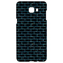 Brick1 Black Marble & Blue Green Water Samsung C9 Pro Hardshell Case  by trendistuff