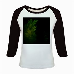Beautiful Fractal Pines In The Misty Spring Night Kids Baseball Jerseys by beautifulfractals