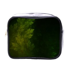 Beautiful Fractal Pines In The Misty Spring Night Mini Toiletries Bags by jayaprime