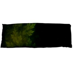 Beautiful Fractal Pines In The Misty Spring Night Body Pillow Case Dakimakura (two Sides)