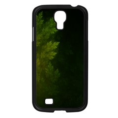 Beautiful Fractal Pines In The Misty Spring Night Samsung Galaxy S4 I9500/ I9505 Case (black) by beautifulfractals