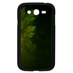 Beautiful Fractal Pines In The Misty Spring Night Samsung Galaxy Grand Duos I9082 Case (black) by jayaprime