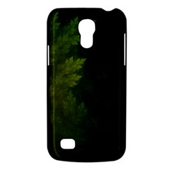 Beautiful Fractal Pines In The Misty Spring Night Galaxy S4 Mini by jayaprime