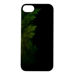 Beautiful Fractal Pines In The Misty Spring Night Apple Iphone 5s/ Se Hardshell Case by beautifulfractals