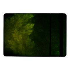 Beautiful Fractal Pines In The Misty Spring Night Samsung Galaxy Tab Pro 10 1  Flip Case by jayaprime
