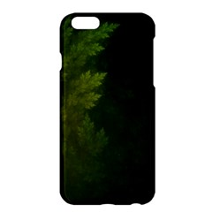 Beautiful Fractal Pines In The Misty Spring Night Apple Iphone 6 Plus/6s Plus Hardshell Case by beautifulfractals
