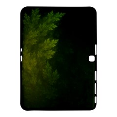 Beautiful Fractal Pines In The Misty Spring Night Samsung Galaxy Tab 4 (10 1 ) Hardshell Case  by jayaprime